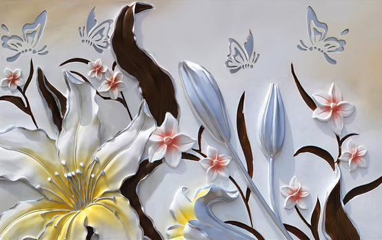 Купить объемные цветы